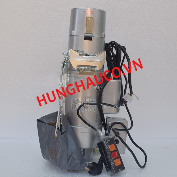 motor cửa cuốn JG 400kg + 2 remote