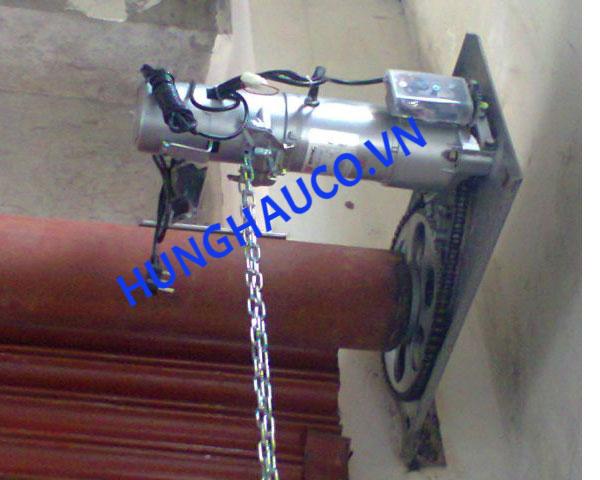 motor cửa cuốn HUALIN 600kg ( motor + lắc + 2 remote)