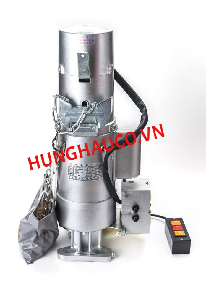 motor cửa cuốn JG 300kg ( motor+ lắc + 2 remote)