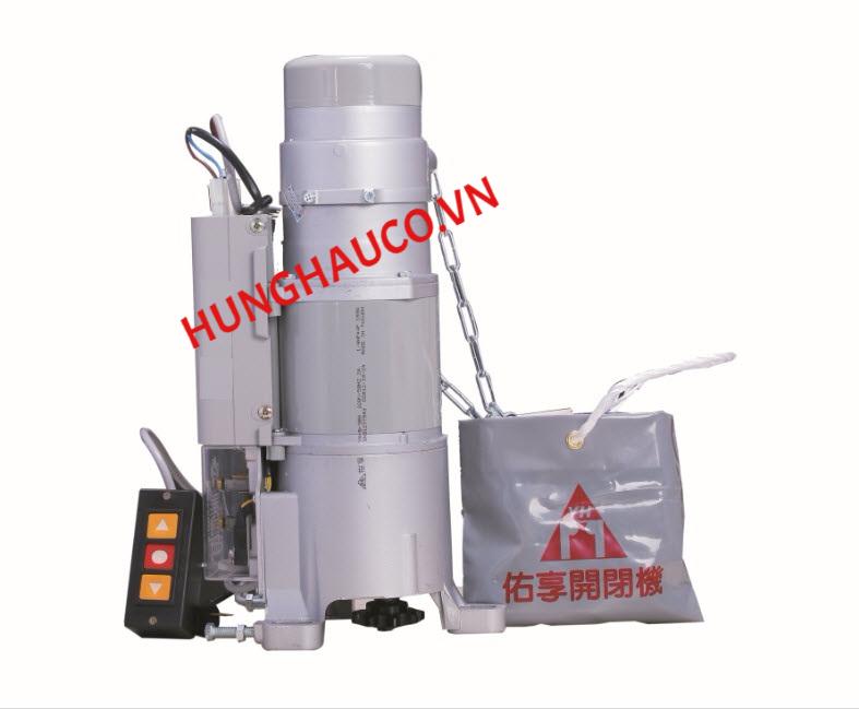 motor cửa cuốn YH 300kg Đài Loan  ( motor+ lắc + 2 remote)