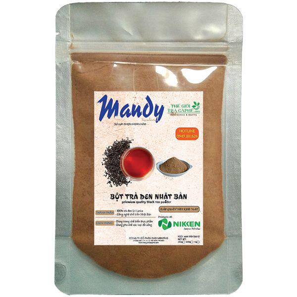Trà đen dạng bột MANDY - Black Tea Powder - 100g