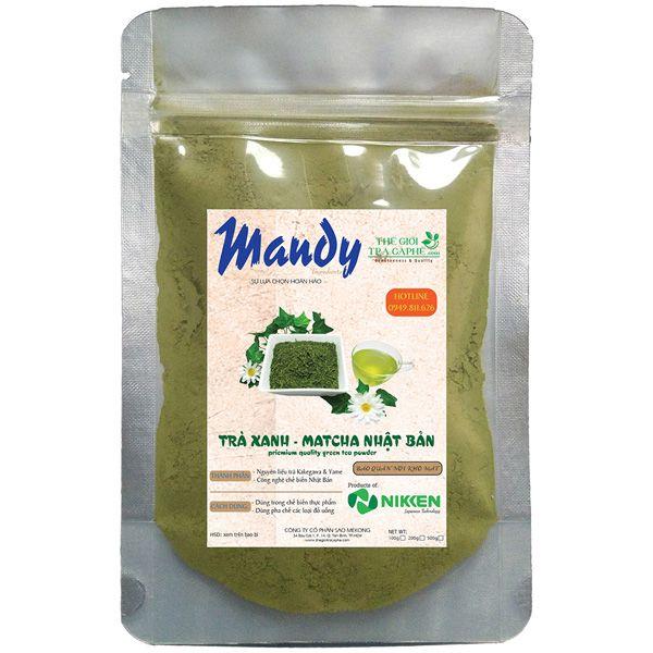 Trà xanh Matcha MANDY - Green Tea - 100g