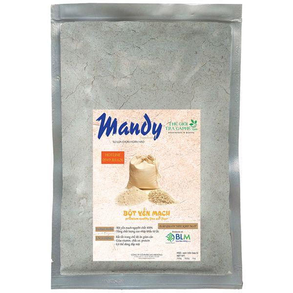 Bột yến mạch MANDY - Fine Oat Flour - 500g