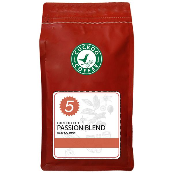 Cuckoo Coffee PASSION BLEND - 1kg