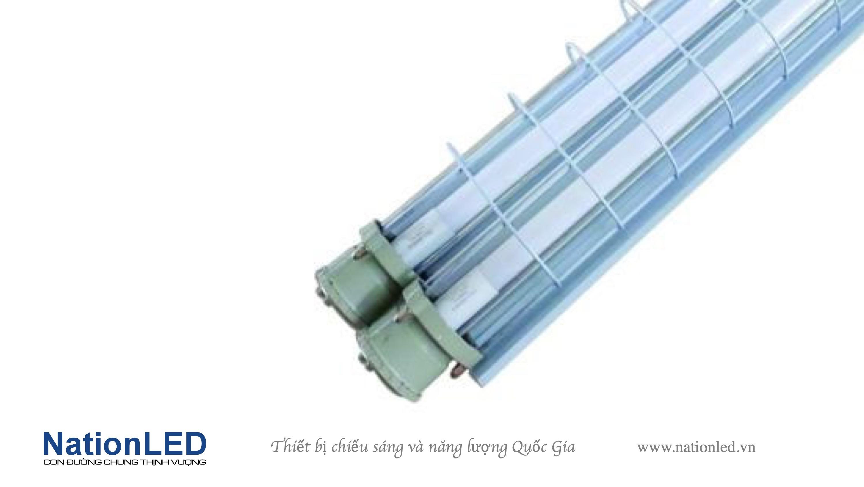 Máng đèn T8 chống nổ 2 bóng - 0,6m