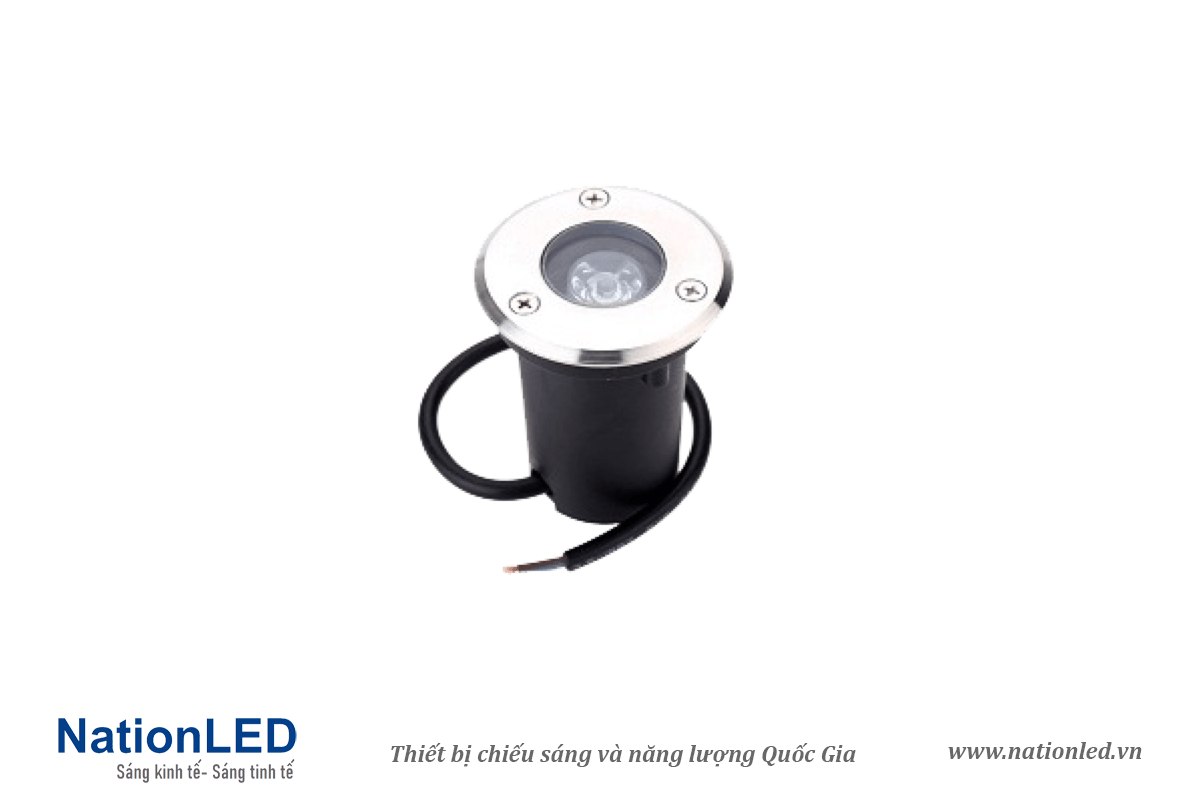 Đèn LED âm đất tròn 1W - NationLED