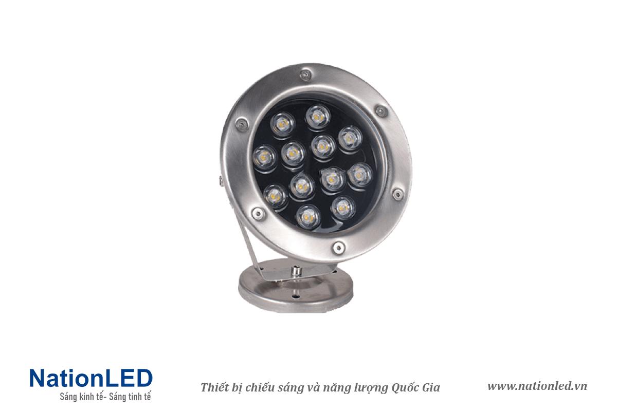 Đèn LED âm nước đế ngồi 12W - NationLED