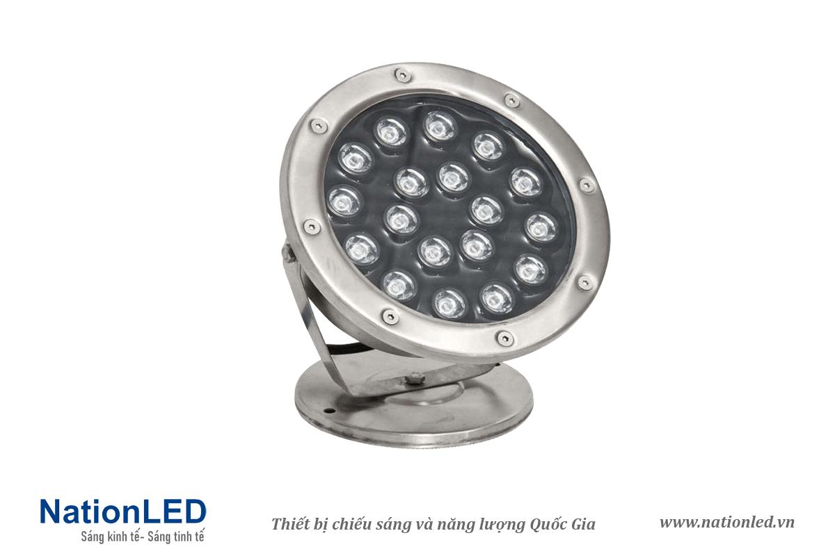 Đèn LED âm nước đế ngồi 18W - NationLED