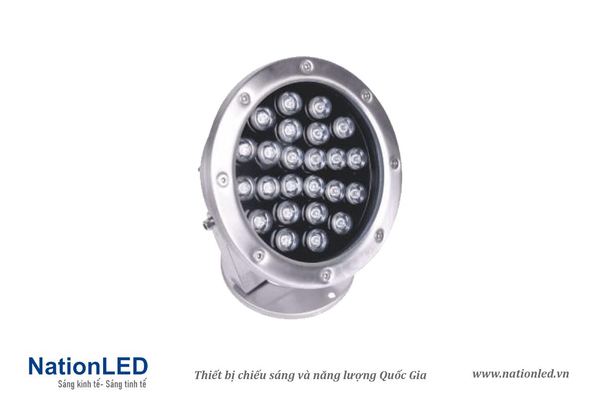 Đèn LED âm nước đế ngồi 24W - NationLED