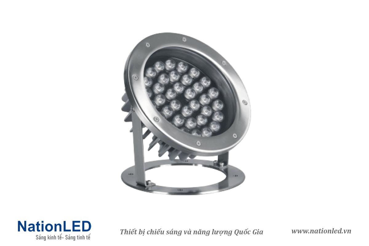 Đèn LED âm nước đế ngồi 36W - NationLED