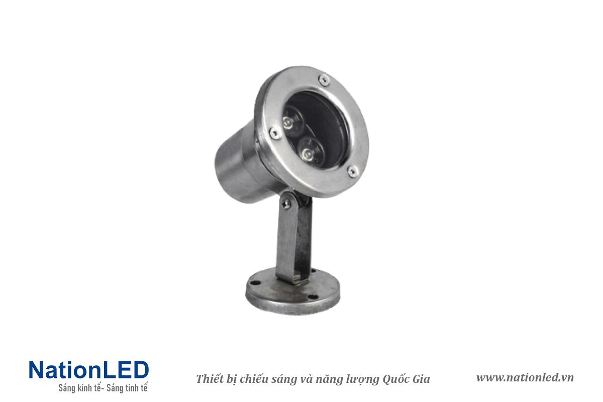 Đèn LED âm nước đế ngồi 3W - NationLED