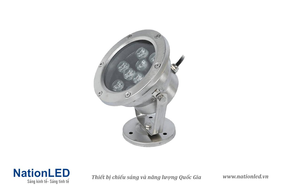 Đèn LED âm nước đế ngồi 9W - NationLED