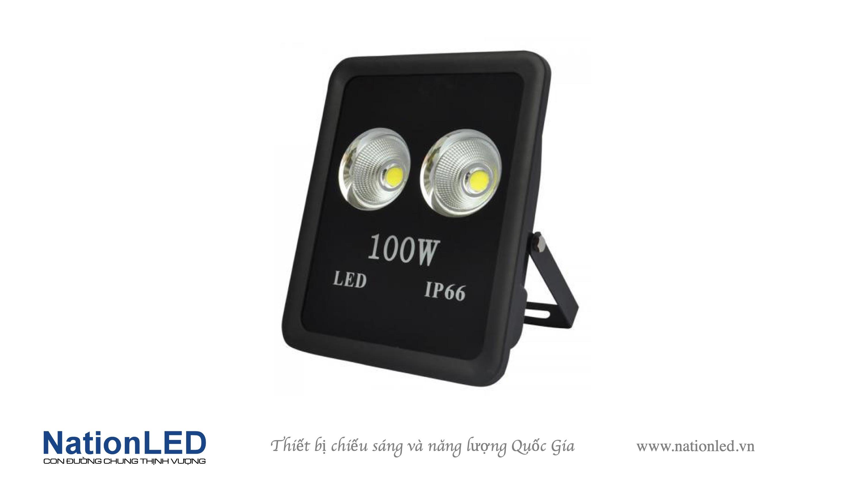 Đèn pha LED chip COB 100W - Cup Sport