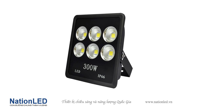 Đèn pha LED chip COB 300W - Cup Sport