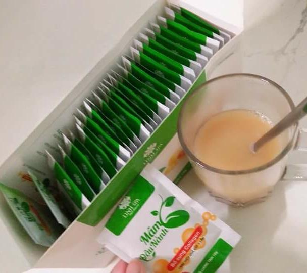 Cách sử dụng mầm đậu nành Collagen Linh Spa