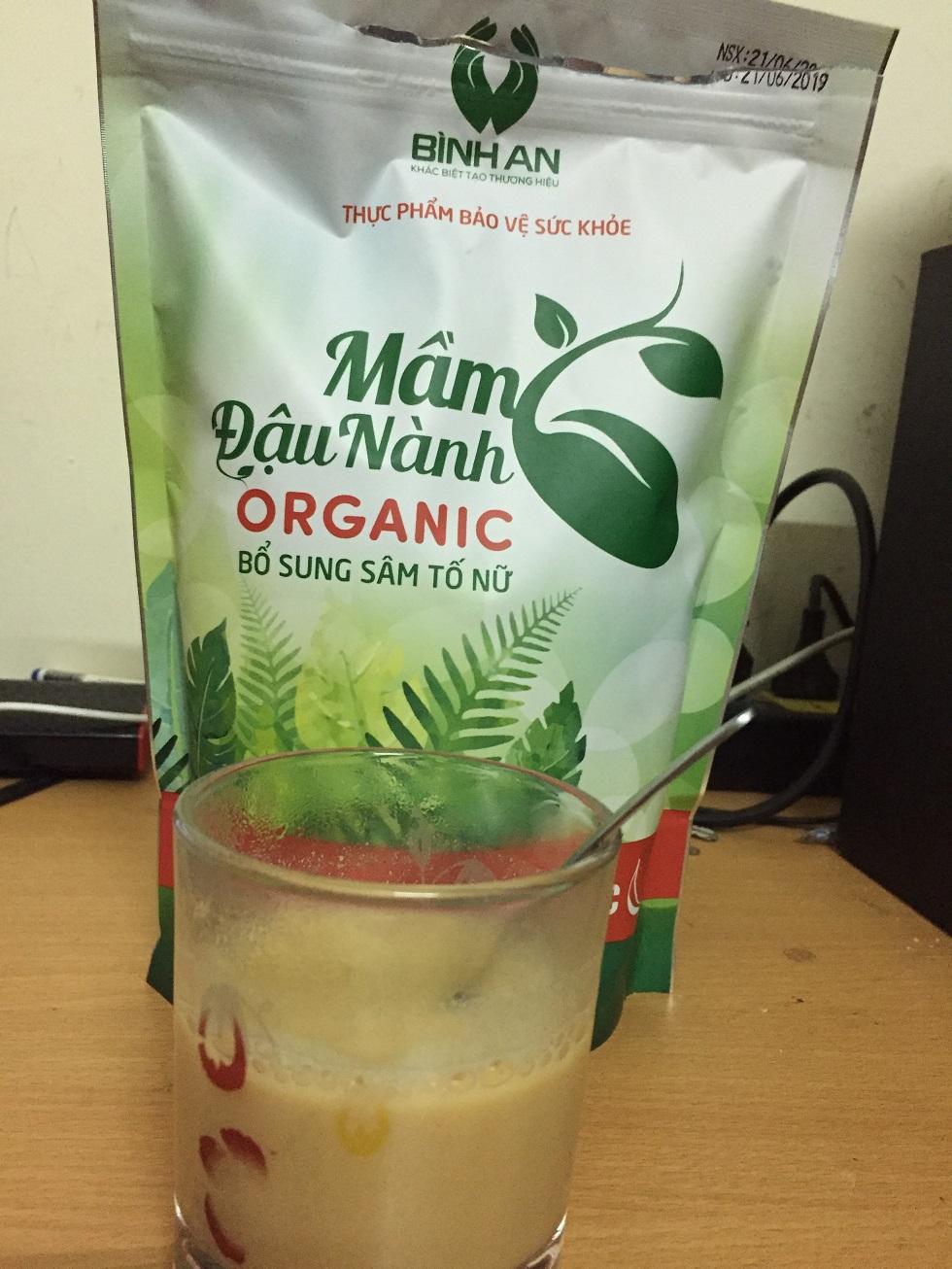 Cách sử dụng mầm đậu nành organic