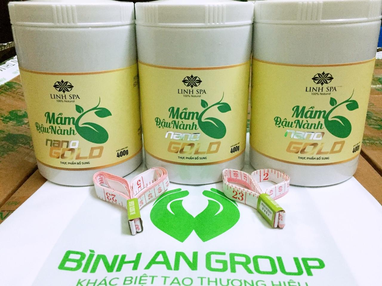 Mầm đậu nành nano gold linh spa giá 390k