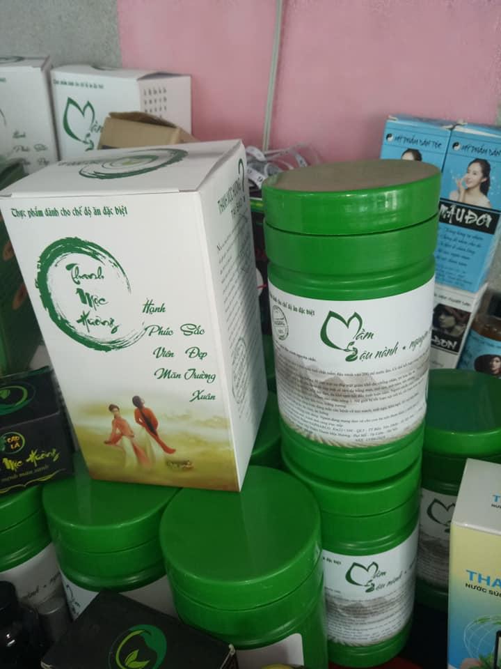 Mầm đậu nành Thanh Mộc Hương loại hộp kín 500g mới
