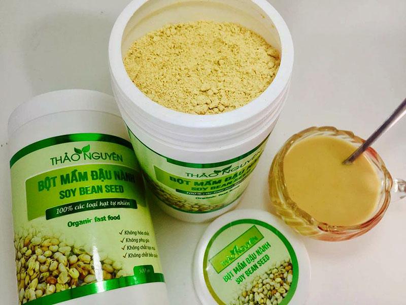 Mầm đậu nành Thảo Nguyên