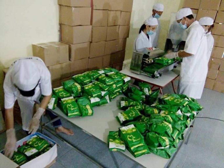 Nhà máy sản xuất mầm đậu nành Thanh Mộc Hương