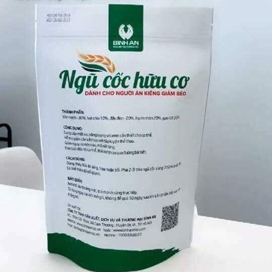 Thành phần bột ngũ cốc hữu cơ Linh Spa