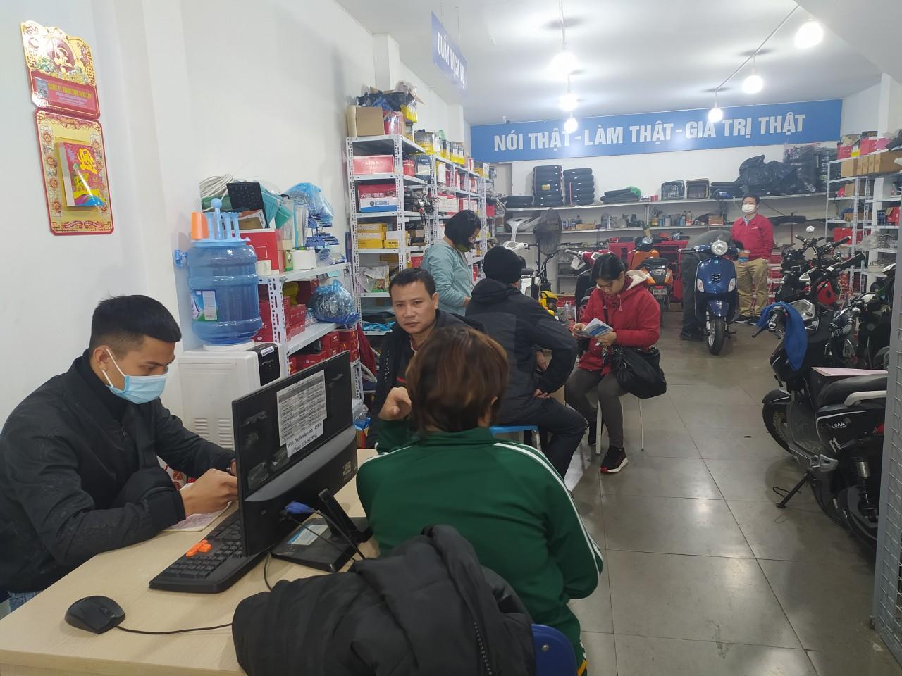 Sửa chữa- Xe Điện Lan Anh