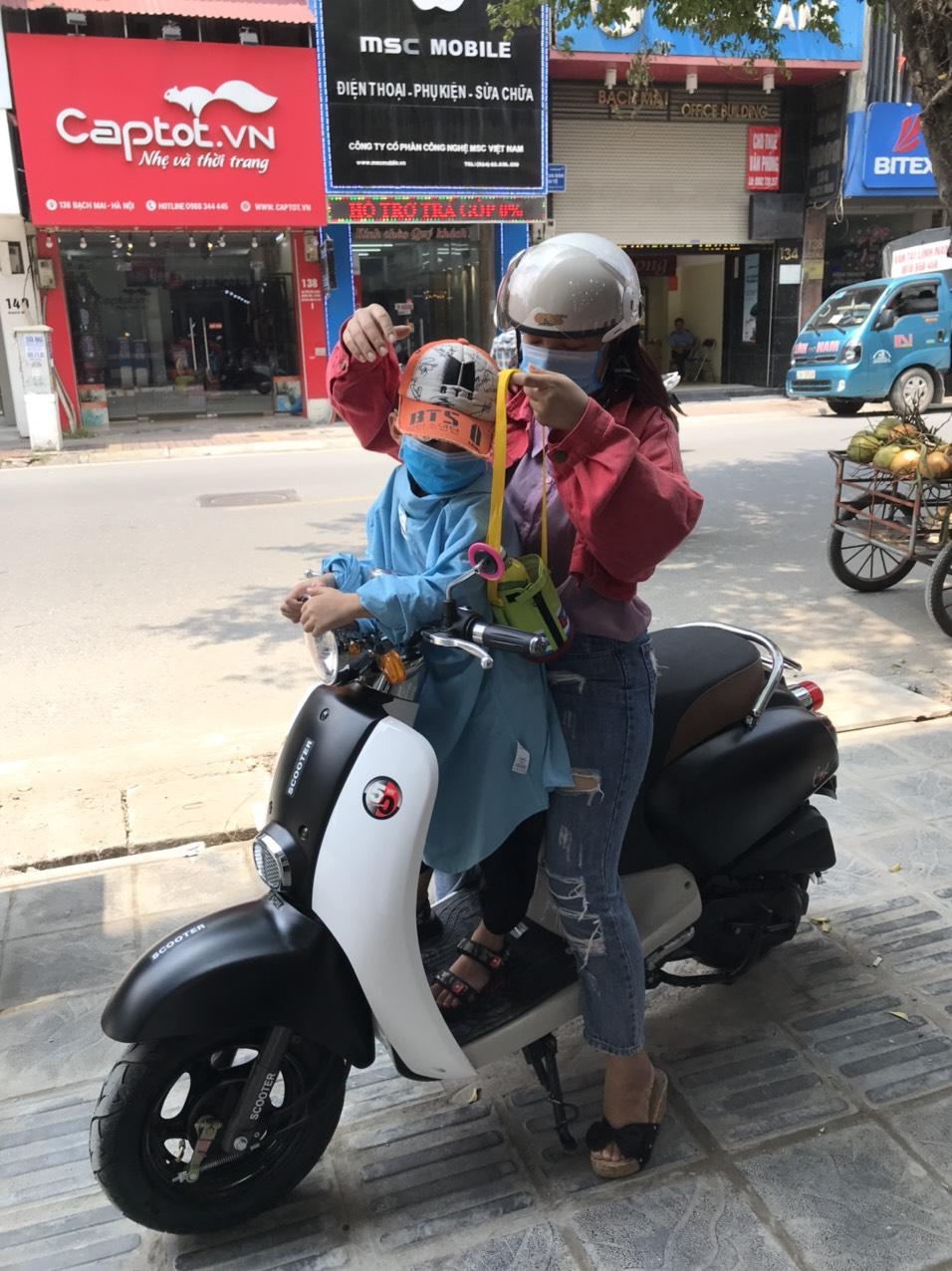 Xe Crea 50cc- Xe Điện Lan Anh