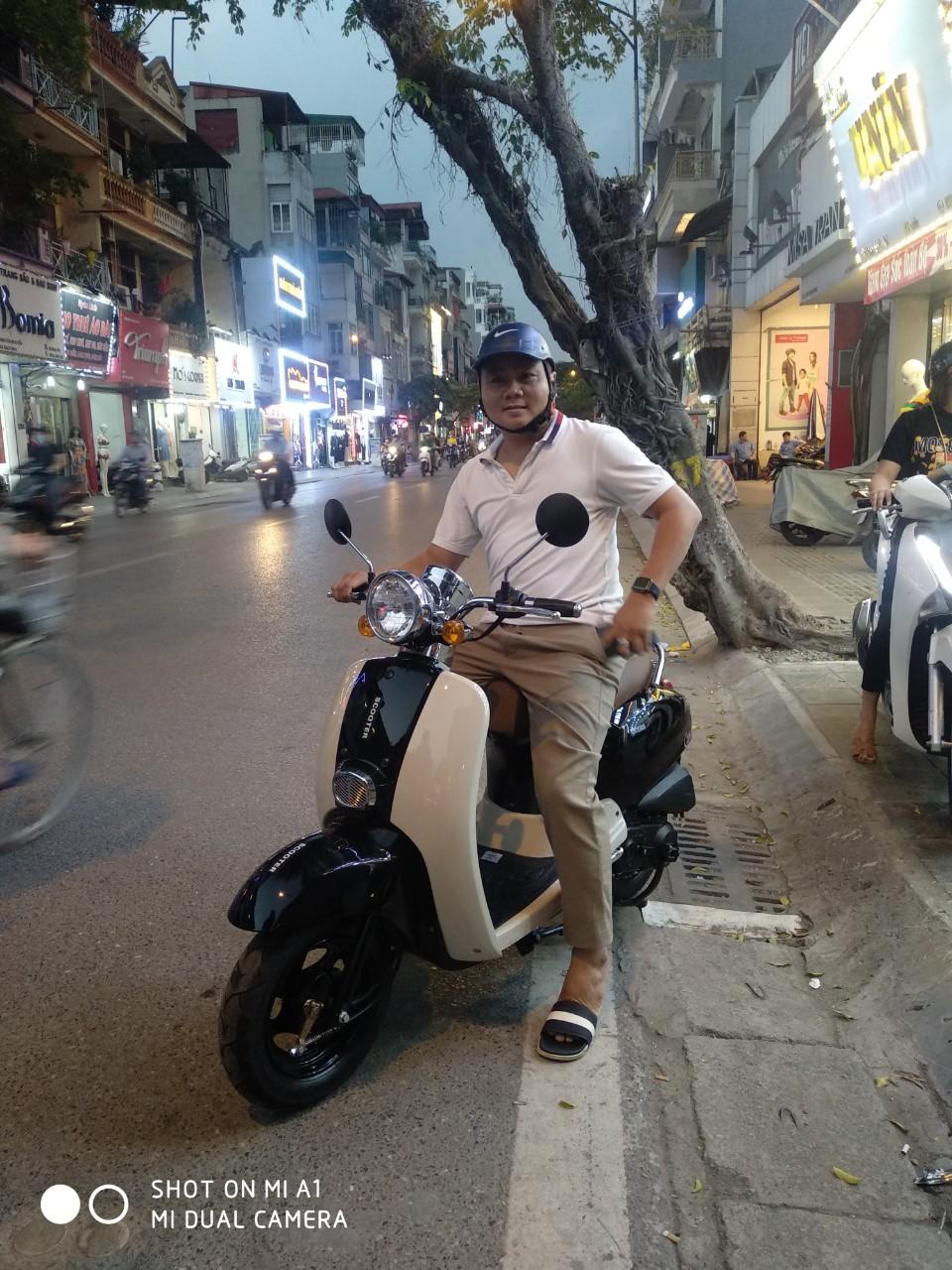 Xe Crea Hyosung 50cc - Xe điện Lan Anh