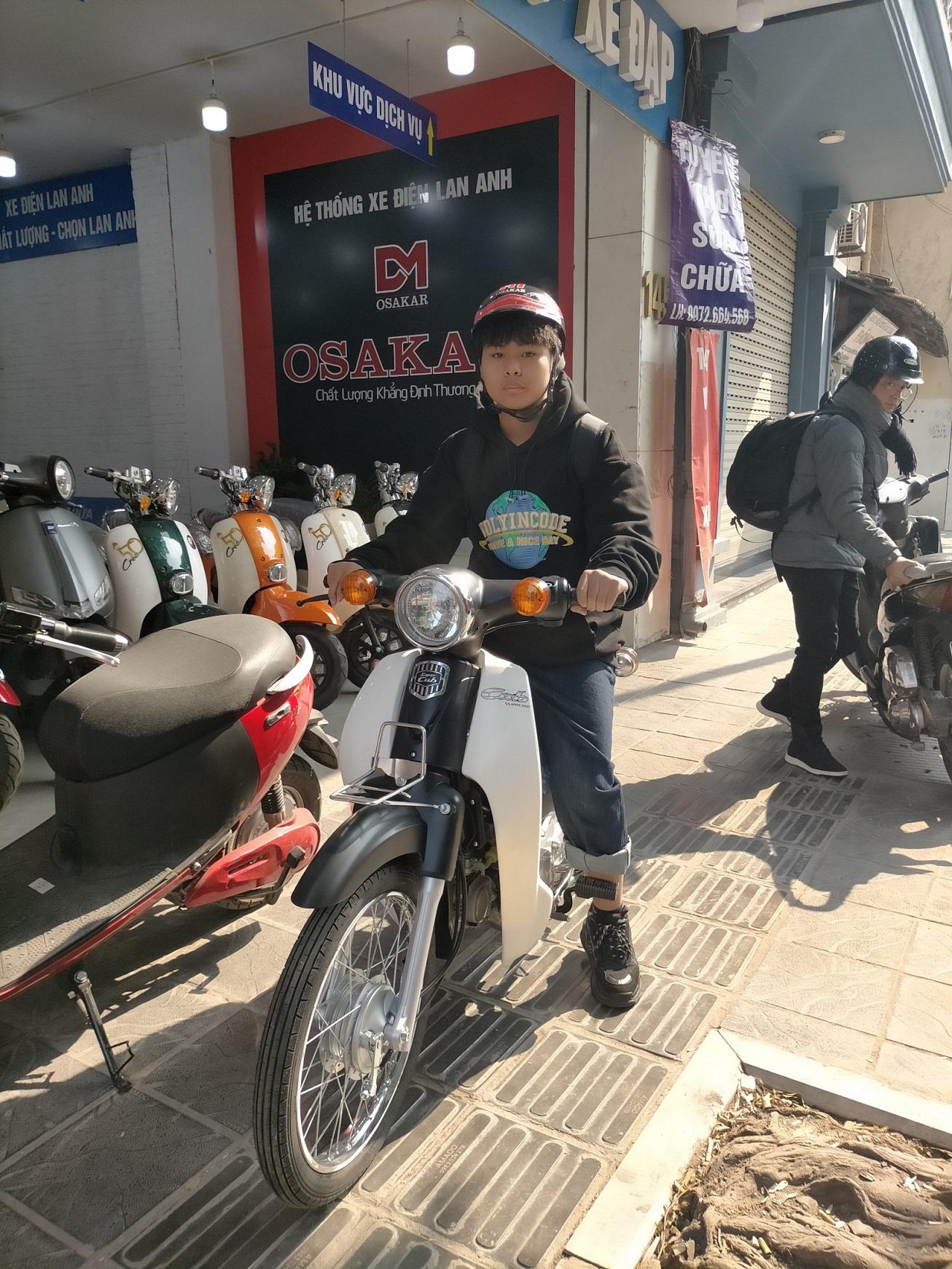 Xe Cub 50cc- Xe Điện Lan Anh