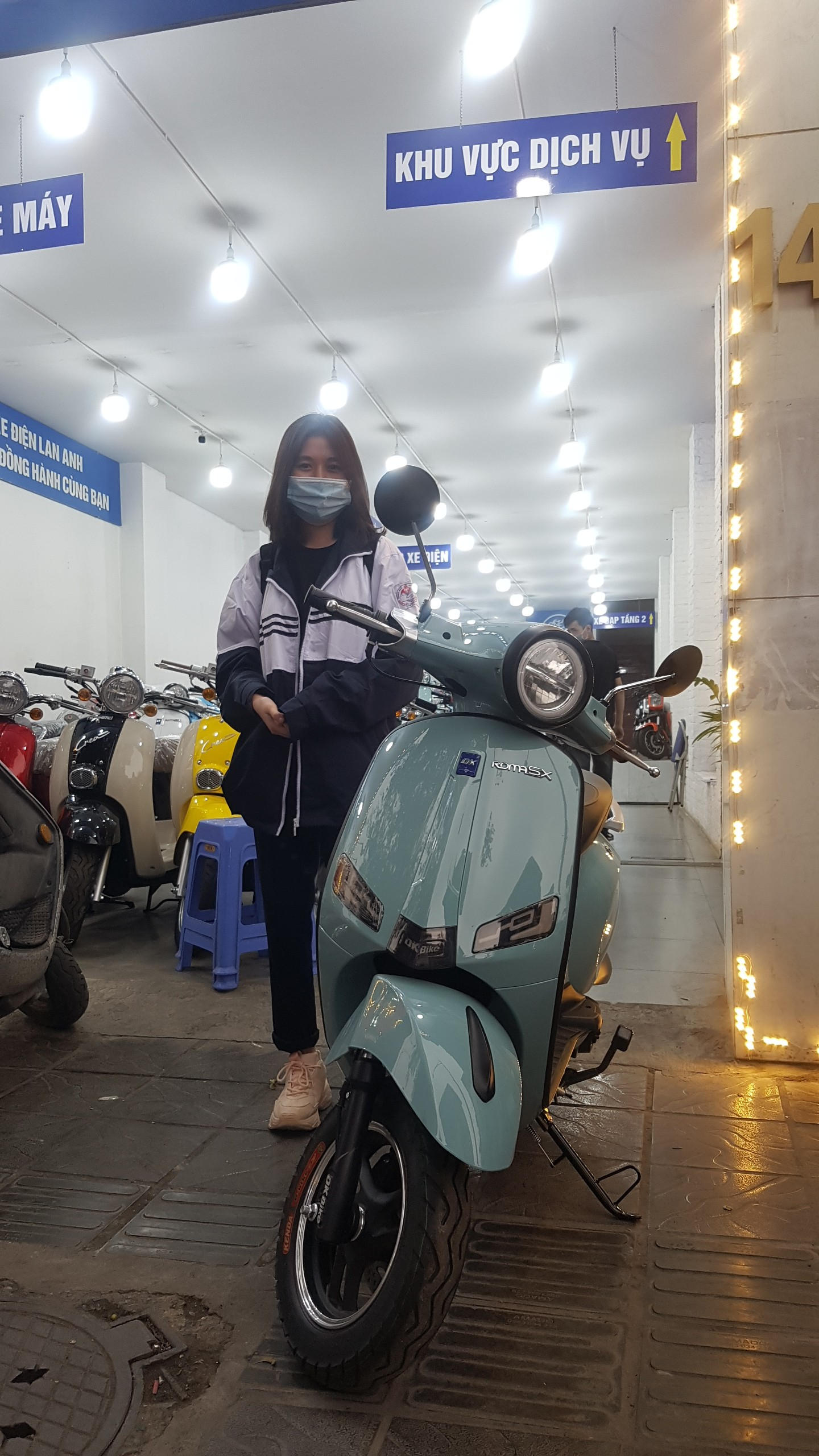 Xe Vesp\a 50cc Roma SX