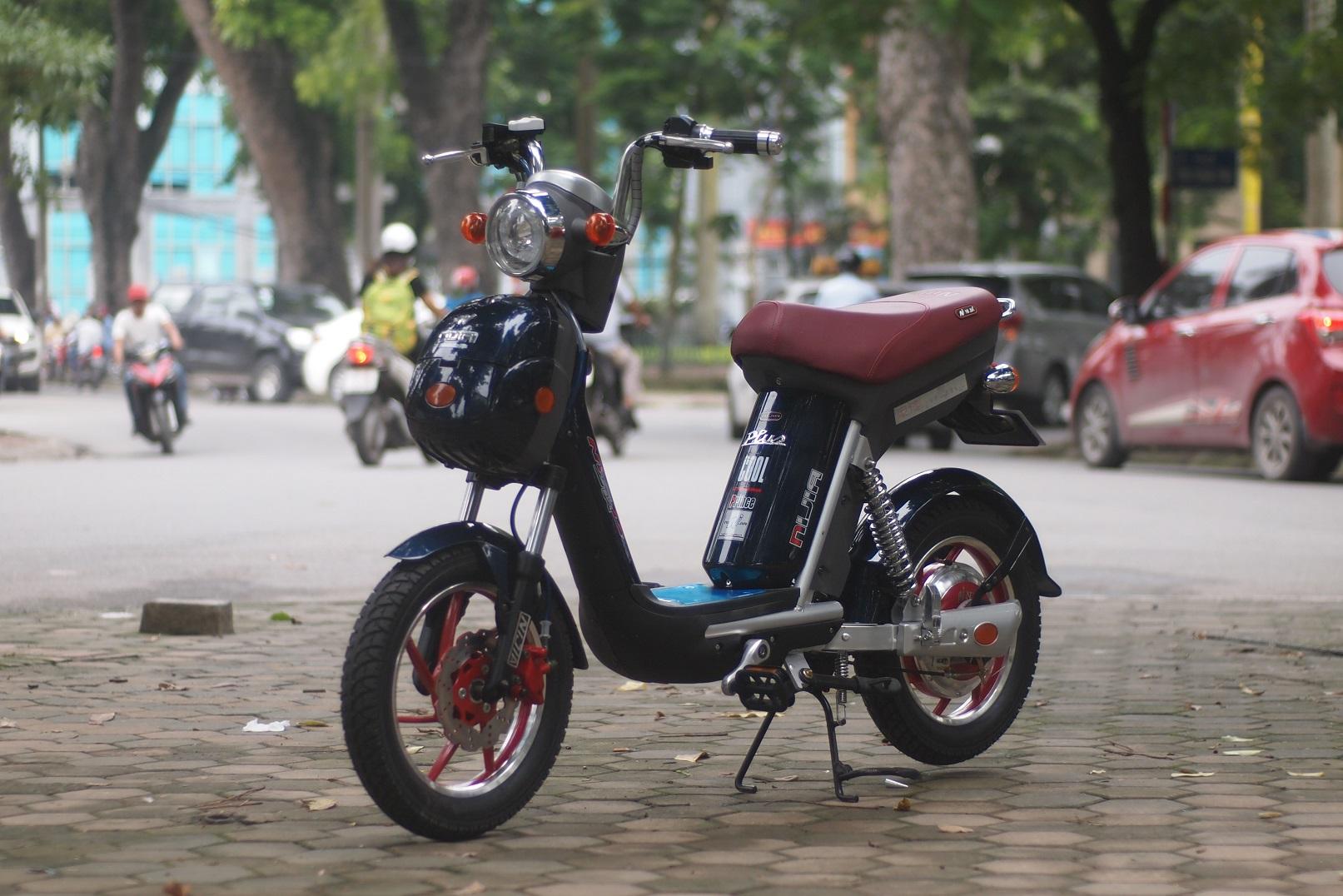 Xe đạp điện Nijia Plus 2019 vành đỏ, động cơ đỏ|Xe điện Lan Anh ...