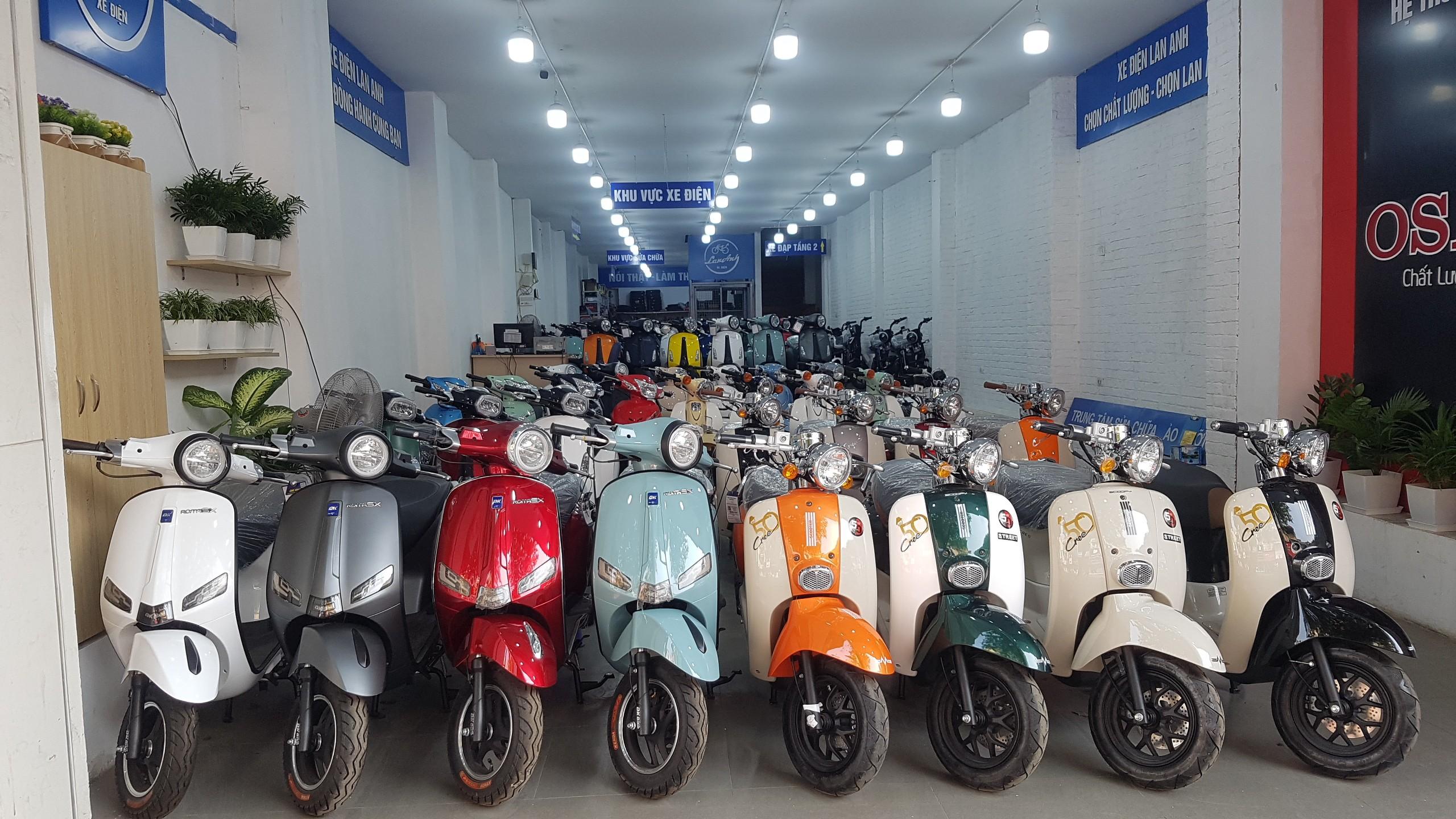 xe máy 50cc - Xe điện Lan Anh
