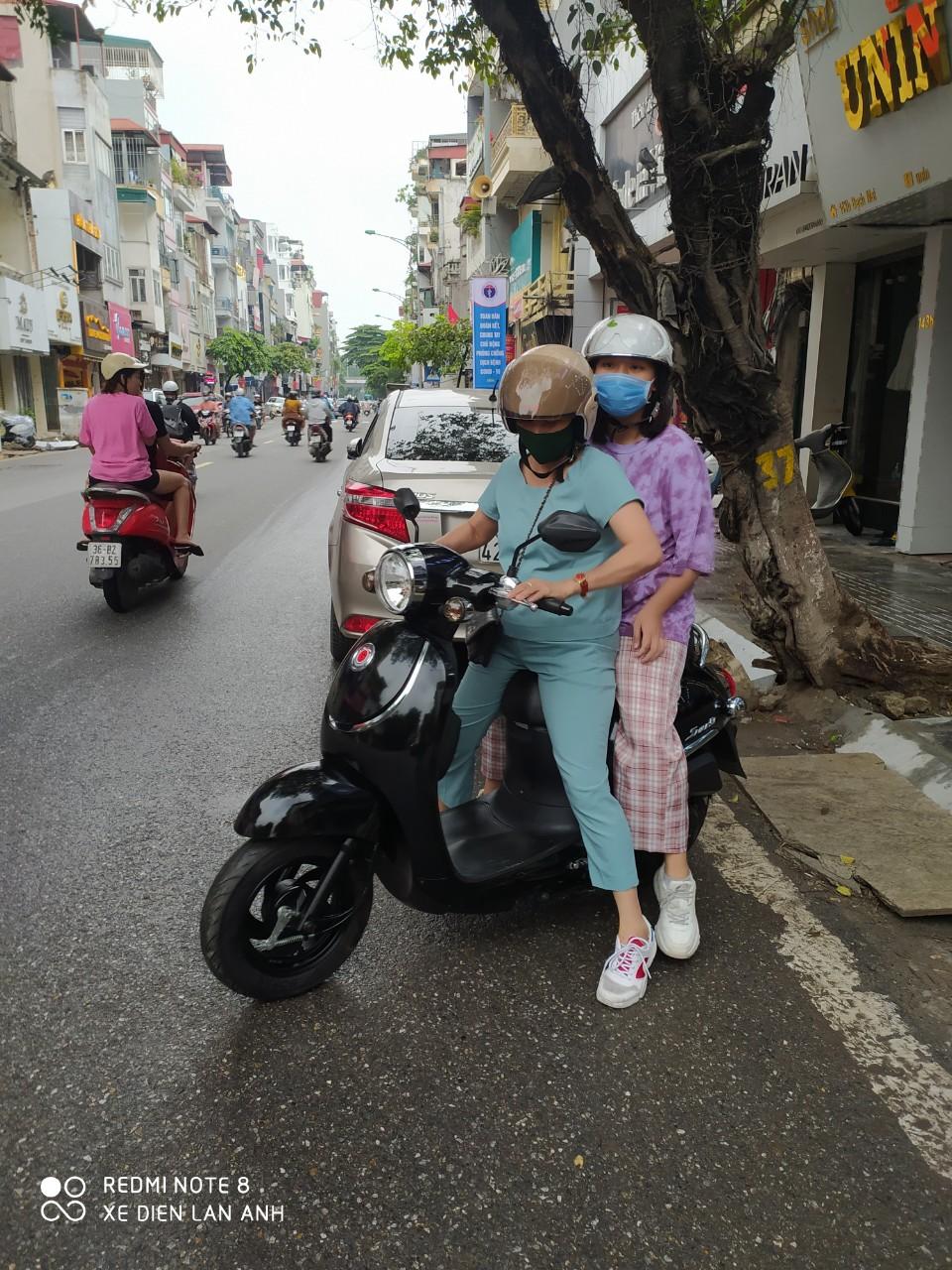 Giorno 50cc- Xe Điện lan Anh