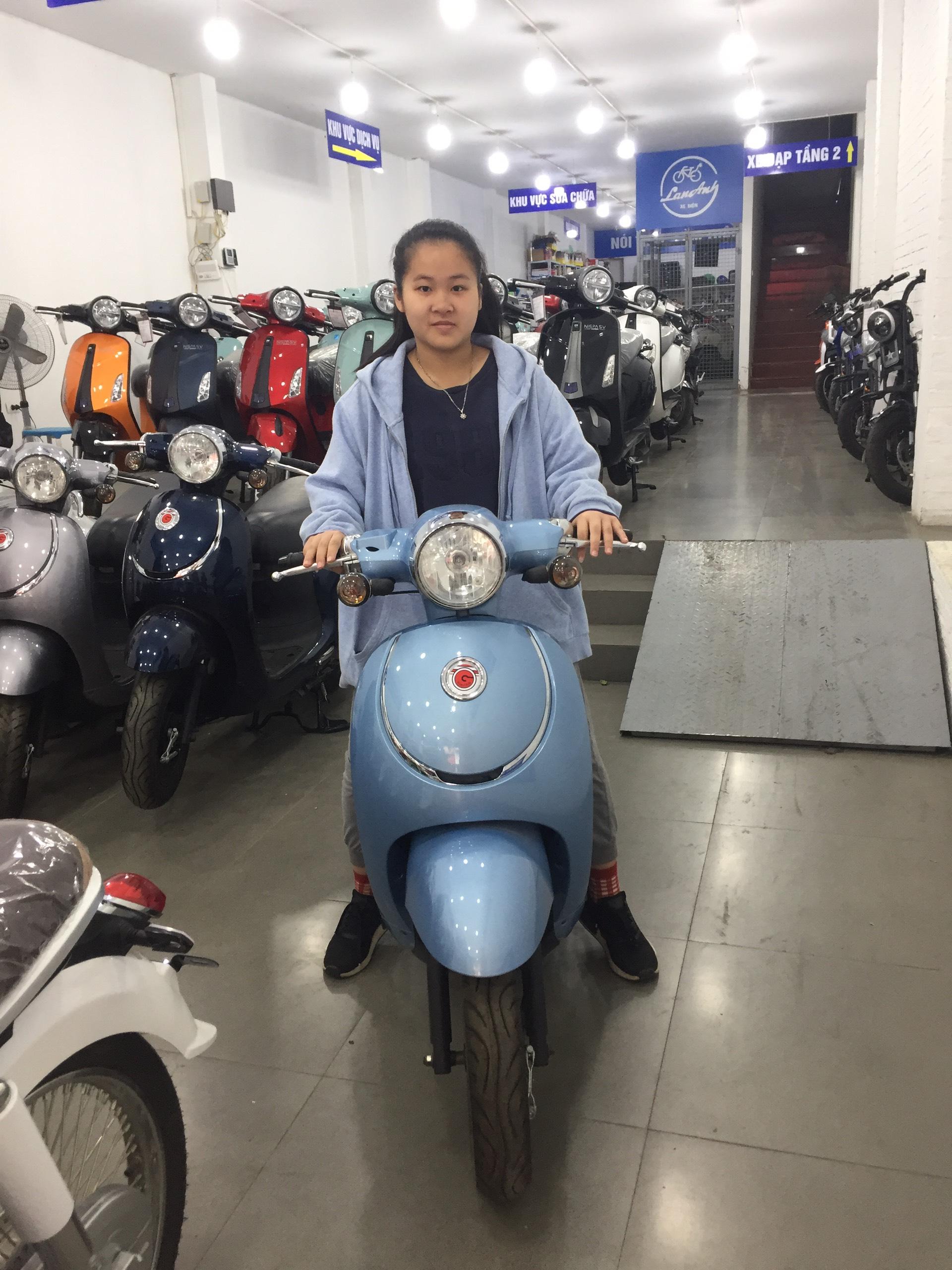 Xe ga 50cc- Xe Điện Lan Anh