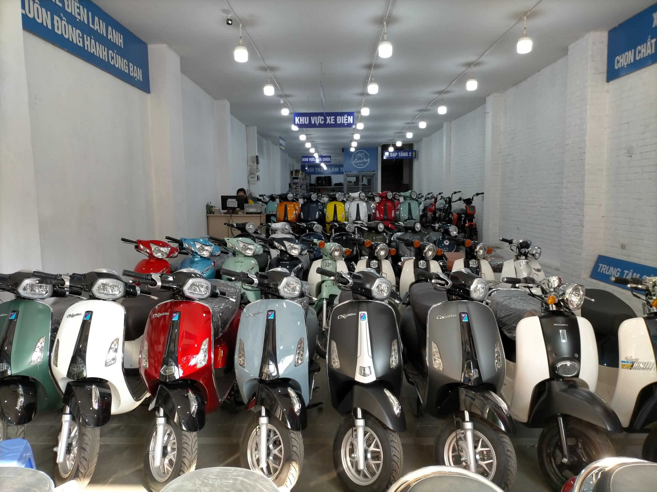 xe máy 50cc- Xe Điện Lan Anh