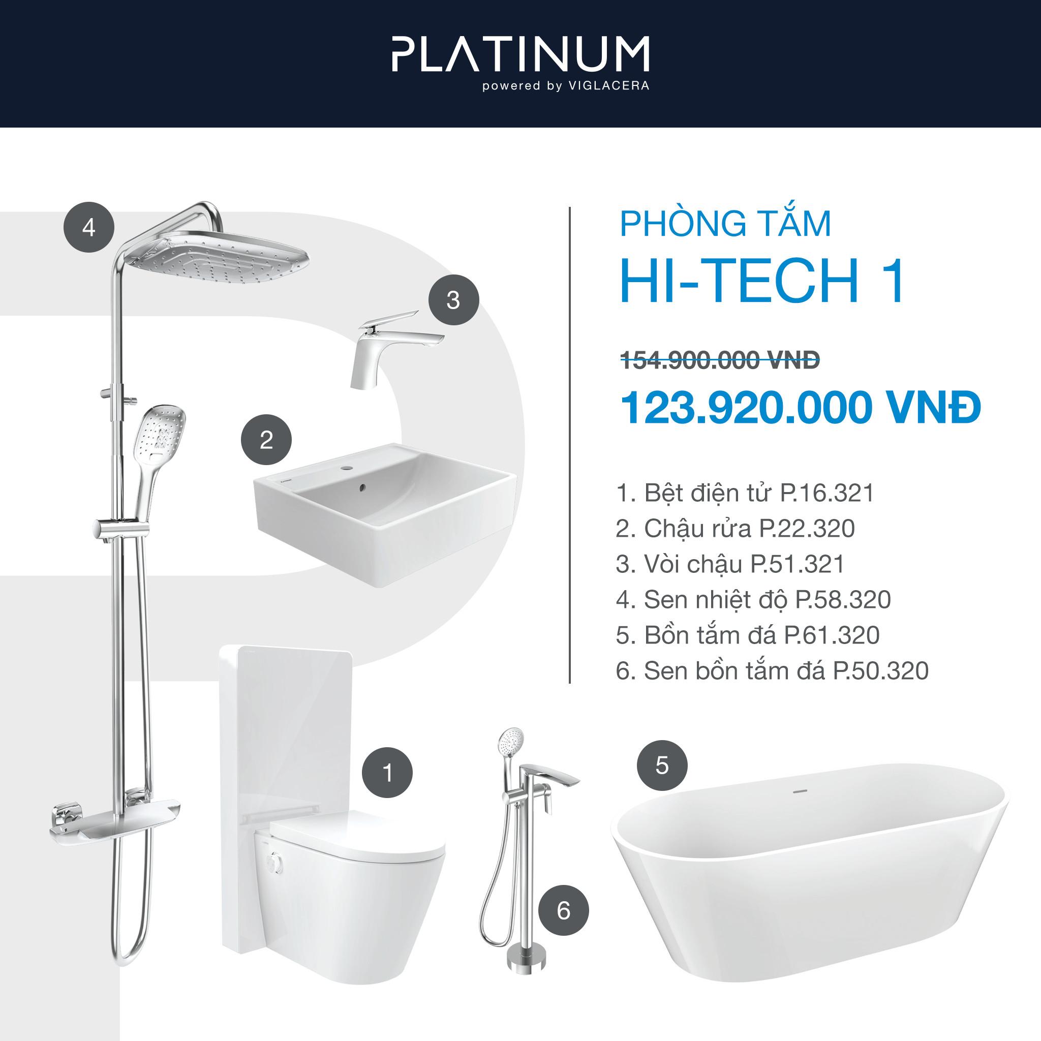 Combo Viglacera Platinum Hi-tech 1