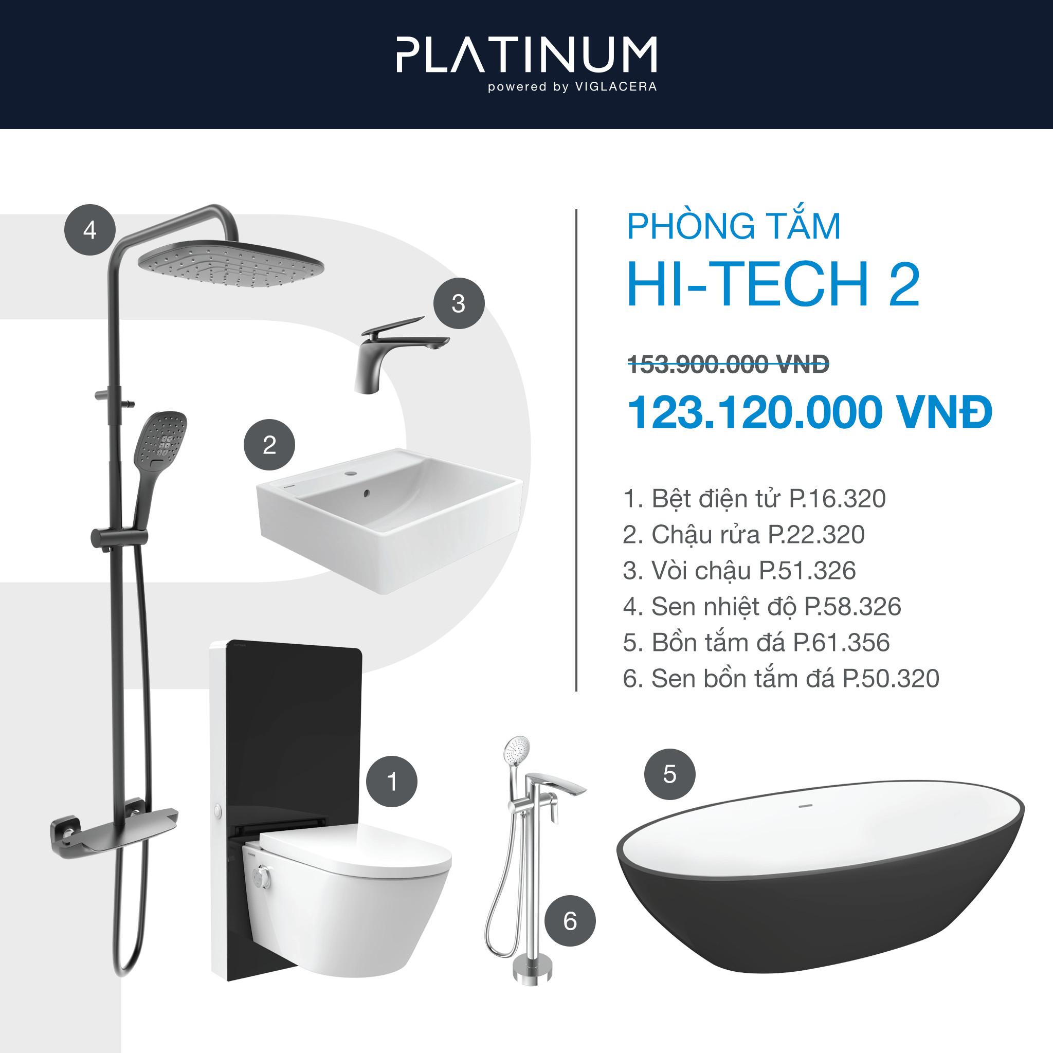 Combo Viglacera Platinum Hi-tech 2