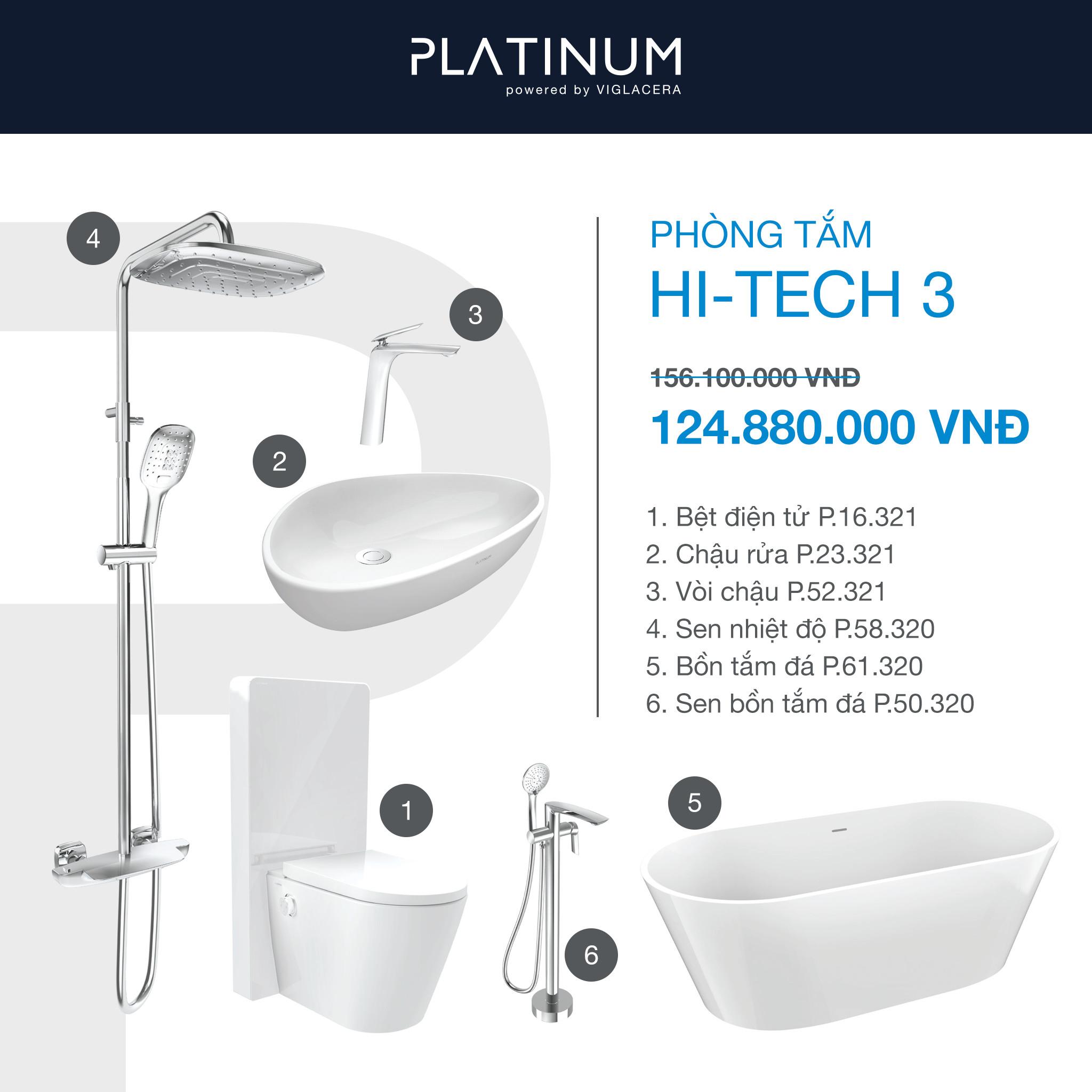 Combo Viglacera Platinum Hi-tech 3