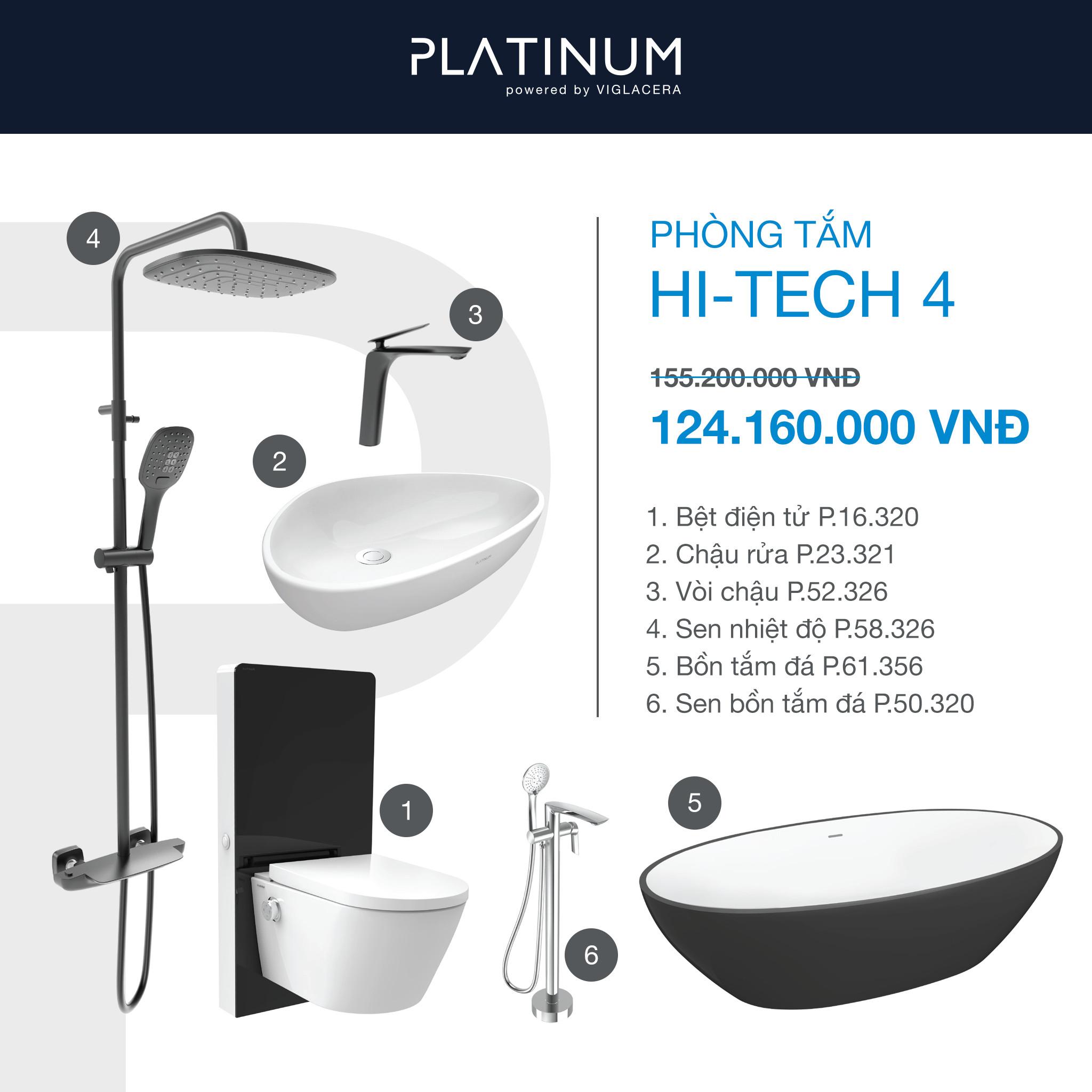 Combo Viglacera Platinum Hi-tech 4