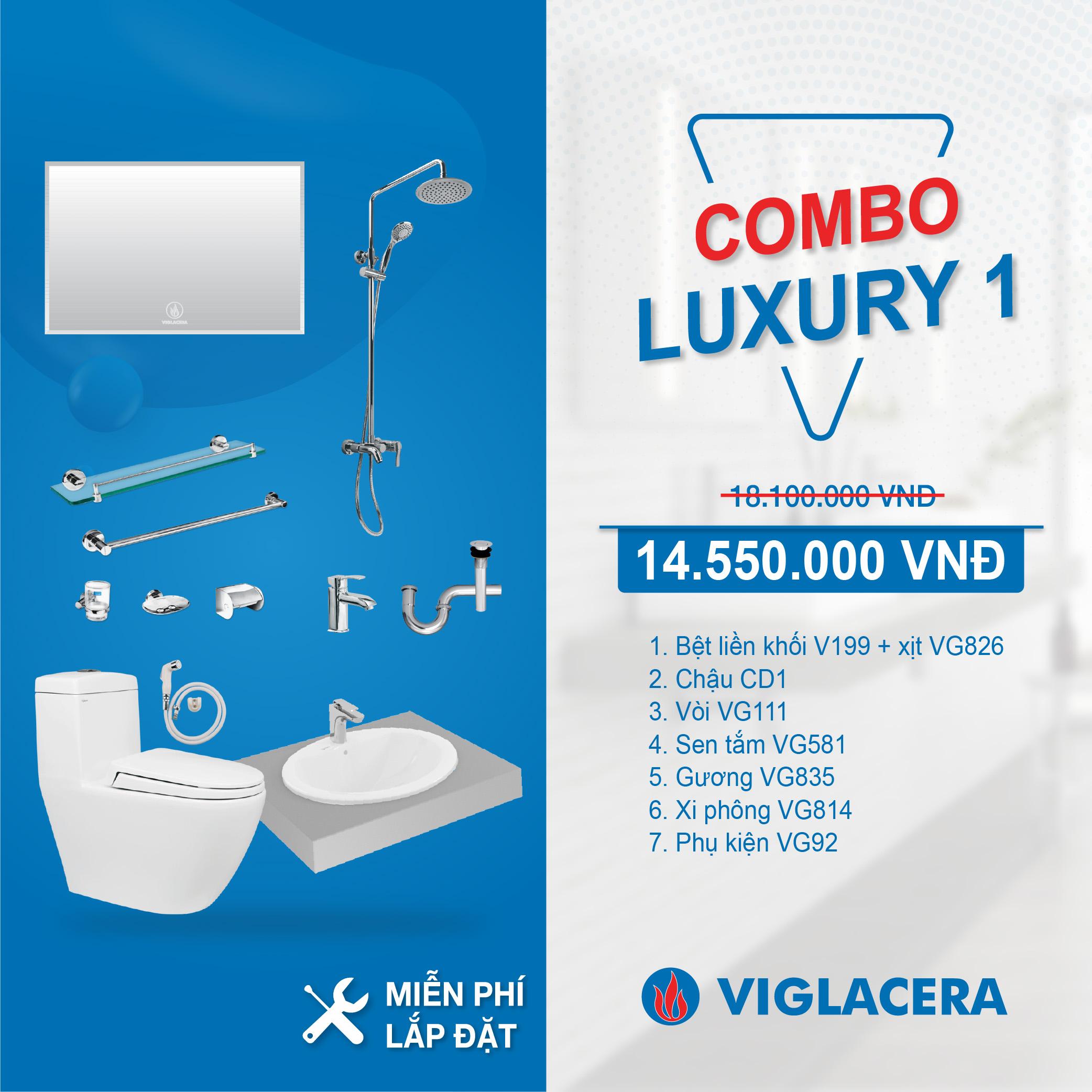 Combo Viglacera Luxury 1