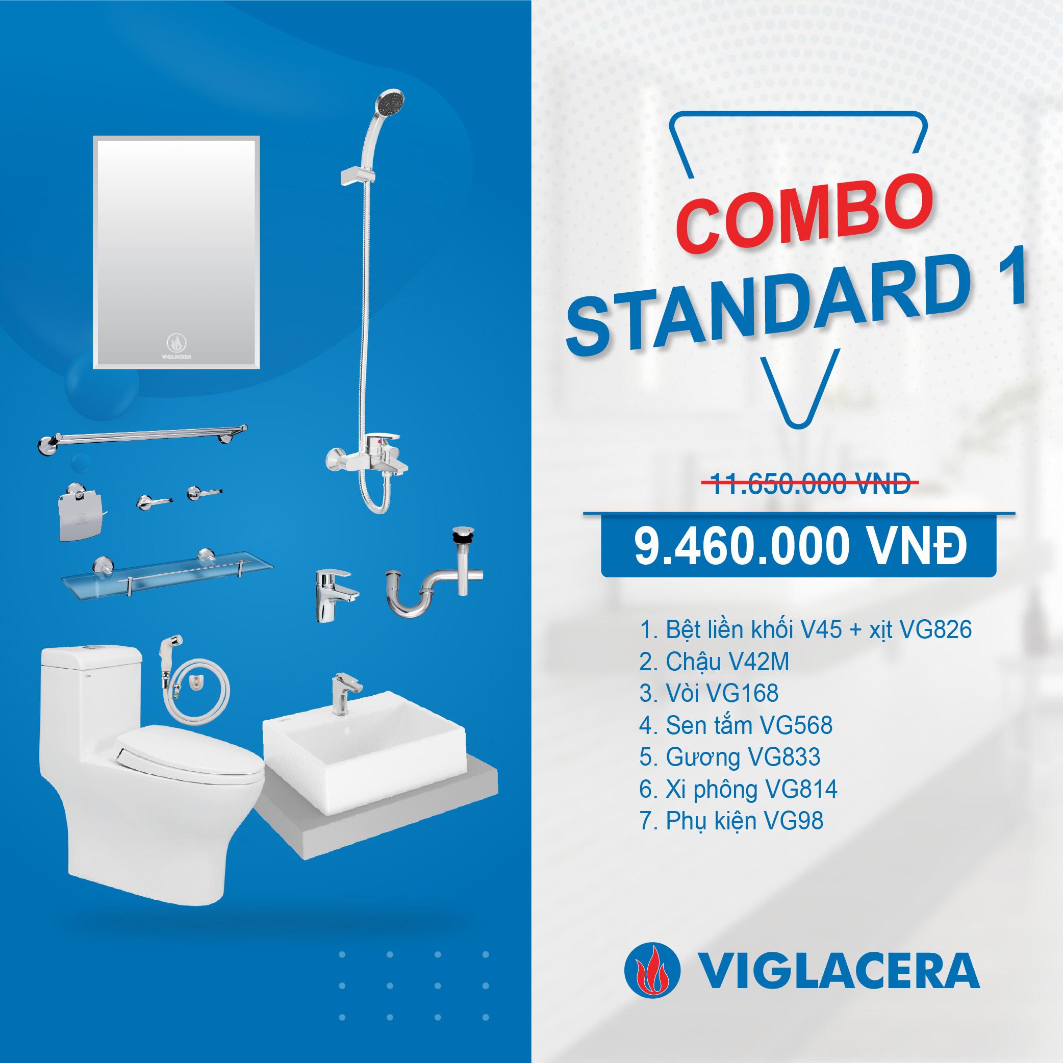 Combo Viglacera Standard 1