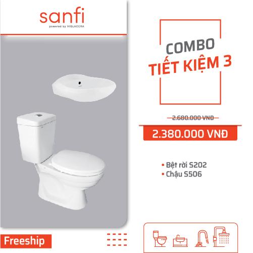 Combo Sanfi Tiết kiệm 3