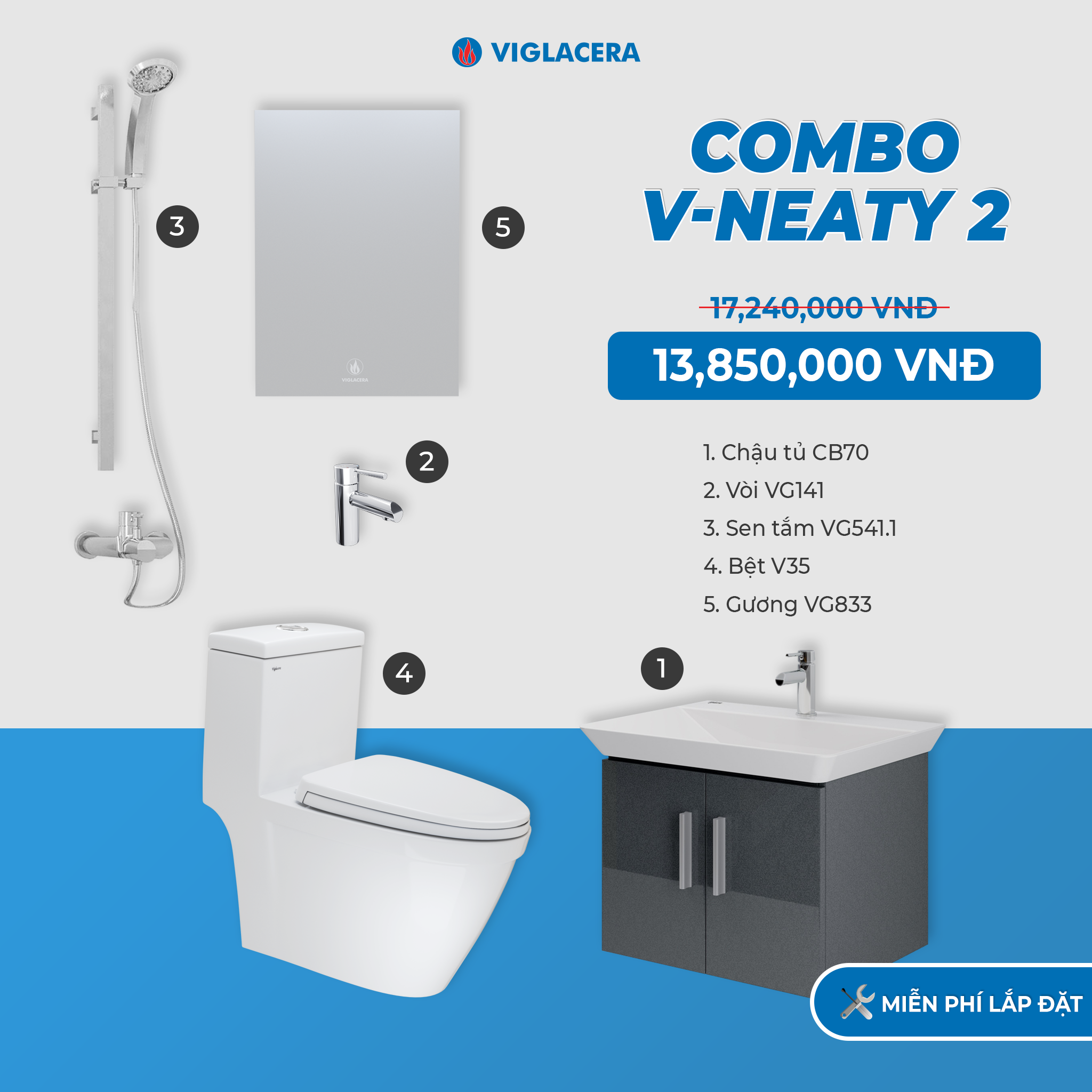 Combo V-NEATY 2