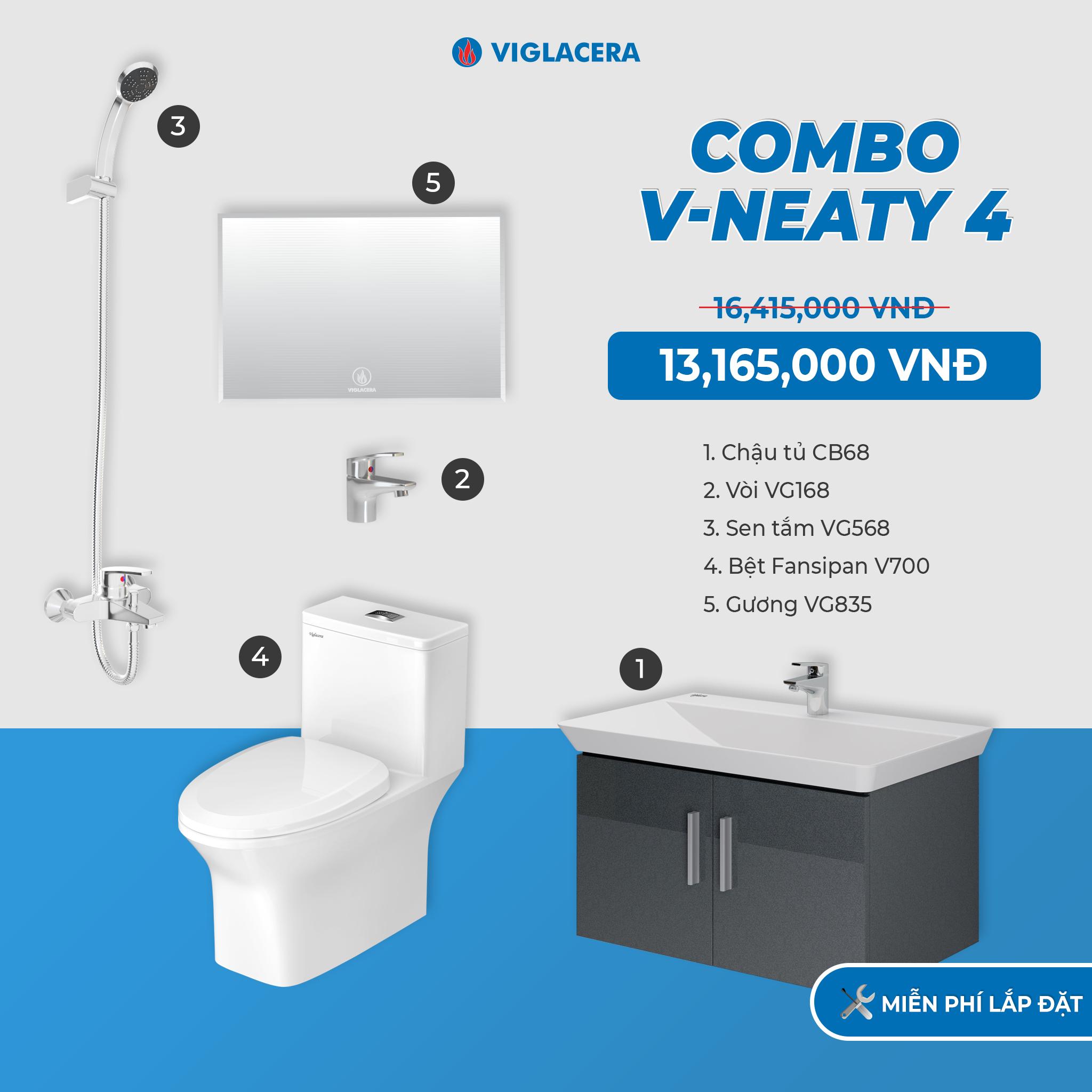 Combo V-NEATY 4