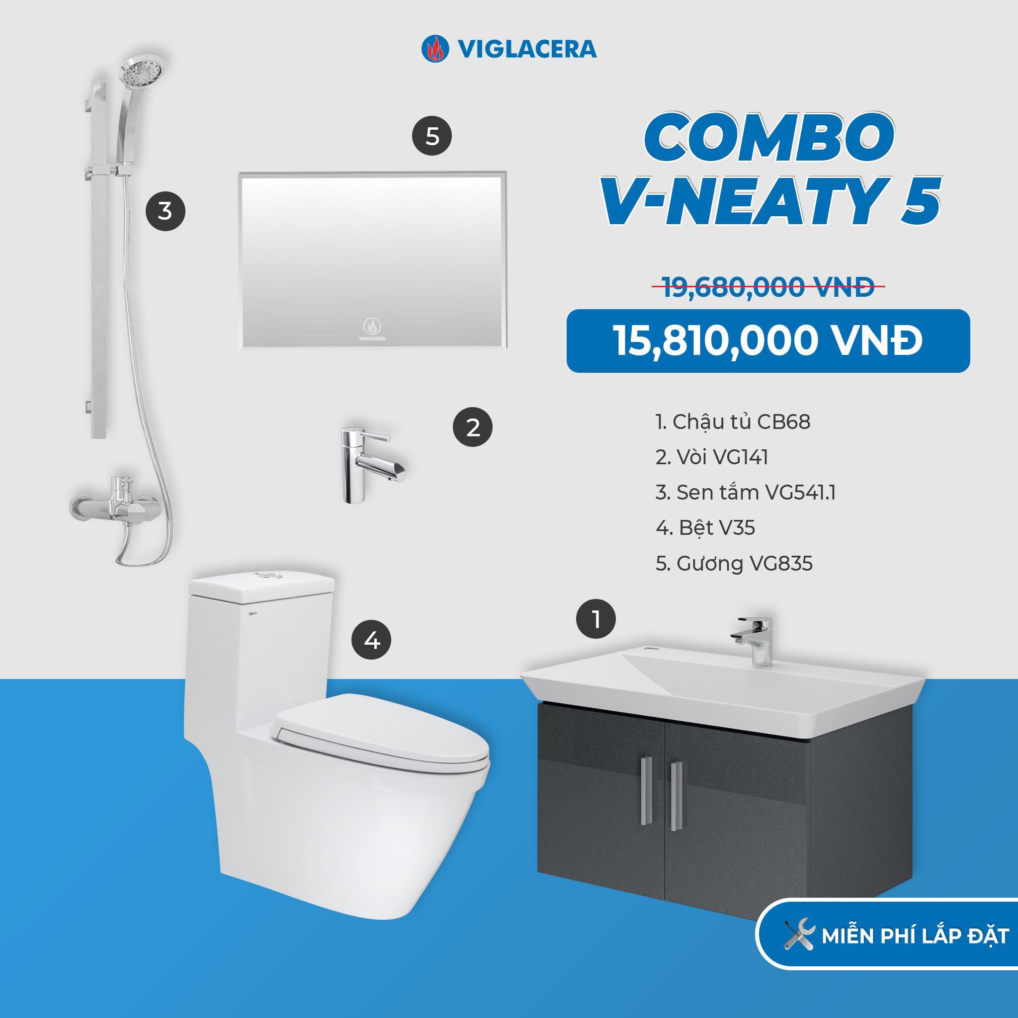 Combo V-NEATY 5