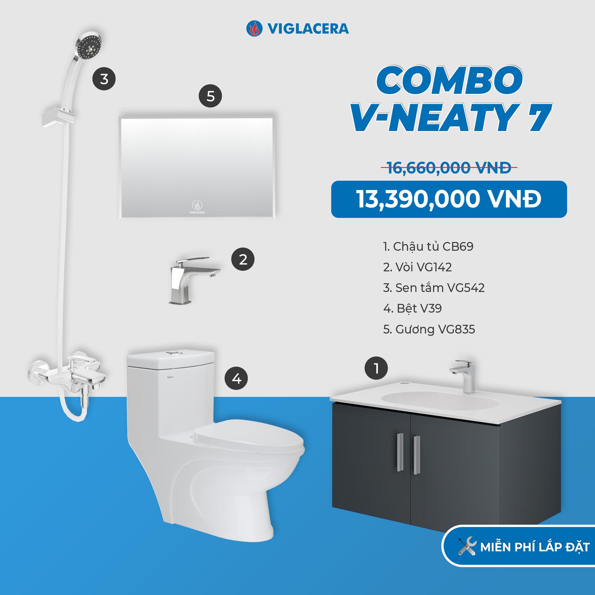 Combo V-NEATY 7