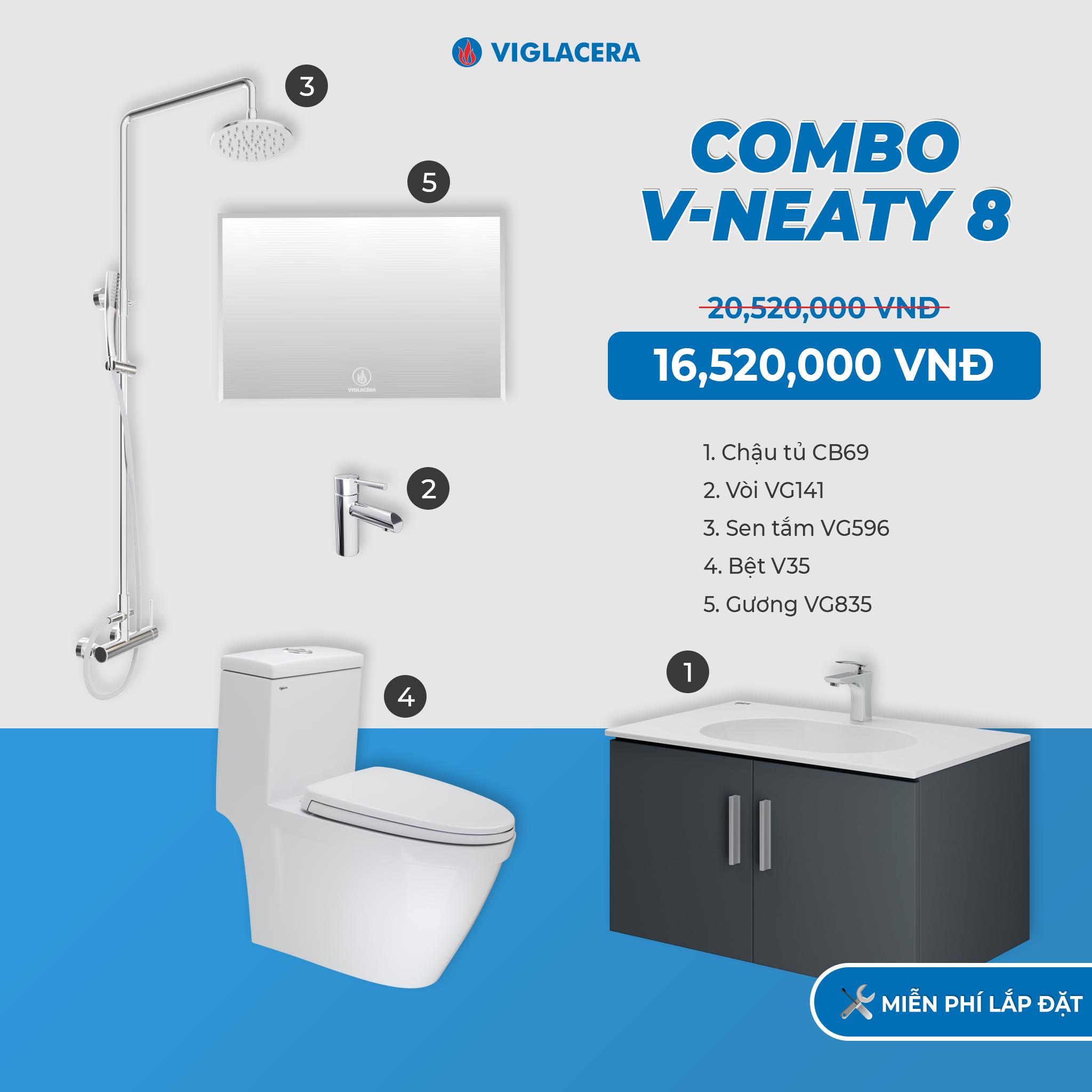 Combo V-NEATY 8