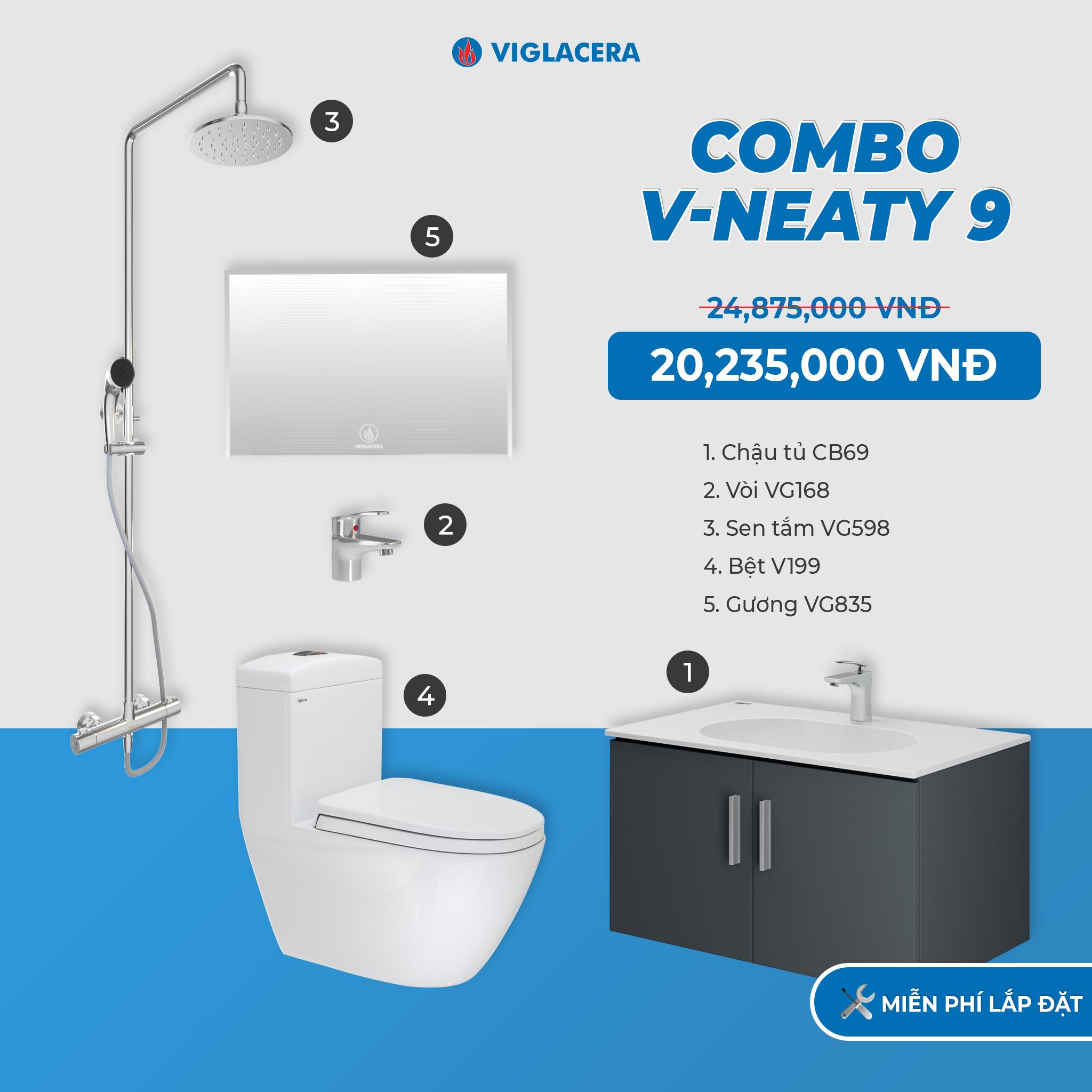 Combo V-NEATY 9
