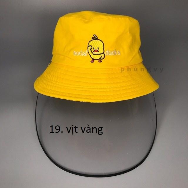 Mũ chống dịch trẻ em