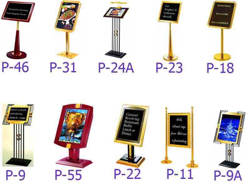 mẫu biển bảng menu